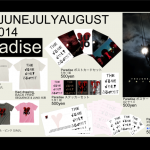 THE JUNEJULYAUGUST tour2014グッズ公開!